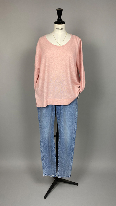 Cashmere Pullover, Not Shy