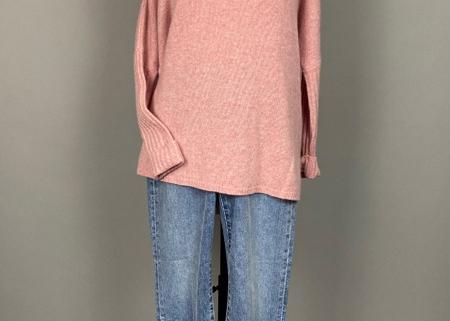 Cashmere Pullover mit Zopfärmeln, Not Shy
