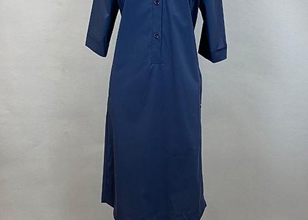 06 Kleid mit Stehkragen Anna Seravalli