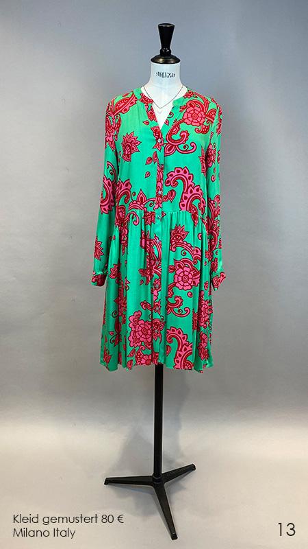 13 Kleid gemustert Anna Seravalli