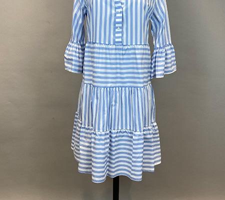 14 Kleid mit Volants Milano Italy