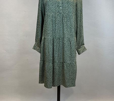 15 Kleid Leoprint Milano Italy