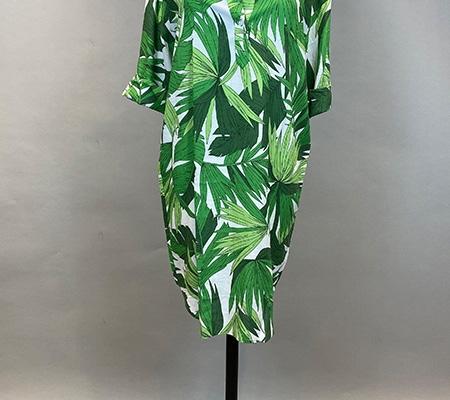 29 Kleid Palmenprint Gant