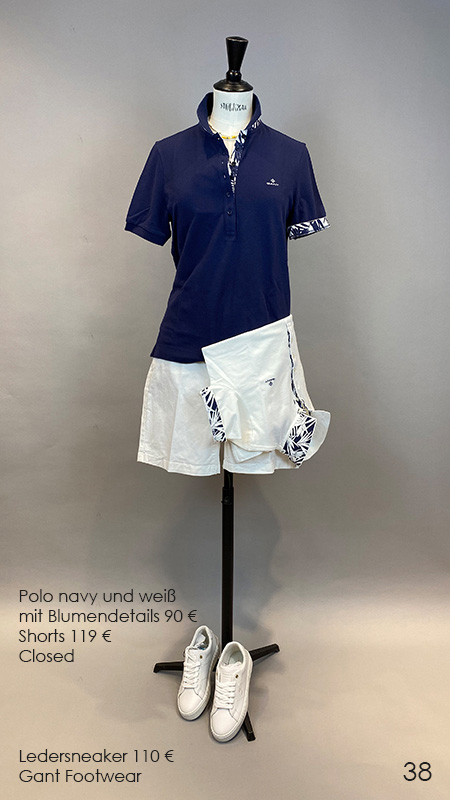38 Polo / Shorts / Sneaker Closed / Gant