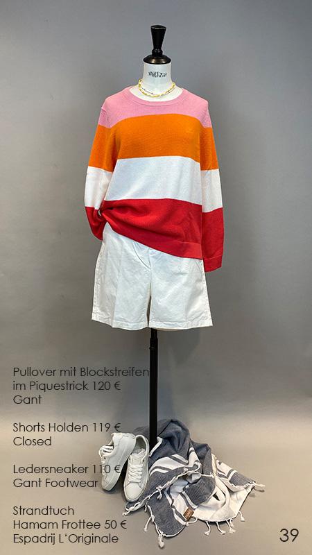 39 Pullover / Shorts / Sneaker Closed / Gant / Espadrij