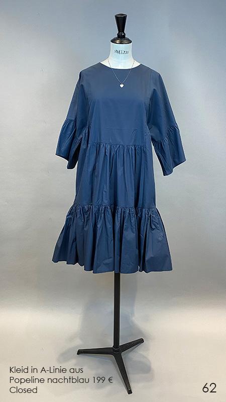 62 Kleid nachtblau Closed