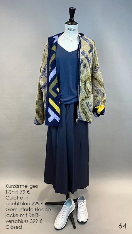 64 Tshirt / Culotte / Fleecejacke Majestic / Nomansland