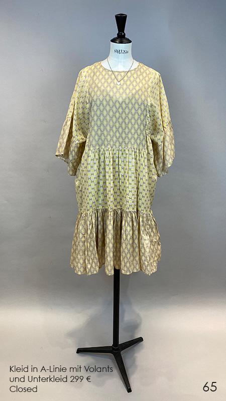 65 Kleid mit Unterkleid Closed