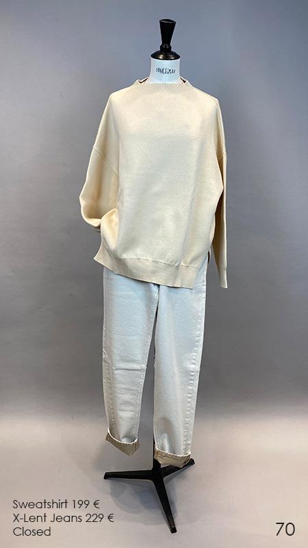 70 Sweatshirt / Jeans Closed