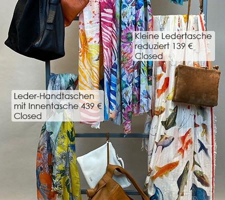 88 Ledertaschen / Tücher Closed / Nila Pila